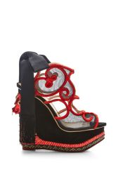 Charlotte Olympia The Great Wedge of China