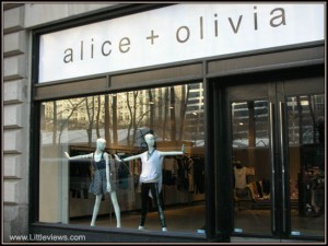 Alice + Olivia boutique