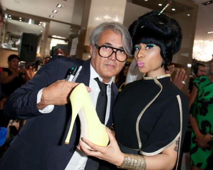 Nicki Minaj and Giuseppe Zanotti