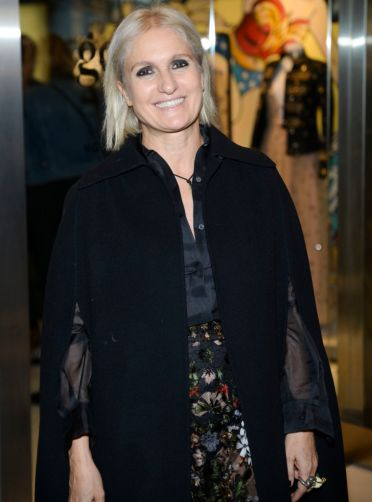 NEW YORK, NY - DECEMBER 02: Maria Grazia Chiuri, Valentino Creative Director attends goop mrkt Grand Opening at The Shops at Columbus Circle on December 2, 2015 in New York City. (Photo by Jenny Anderson/WireImage)