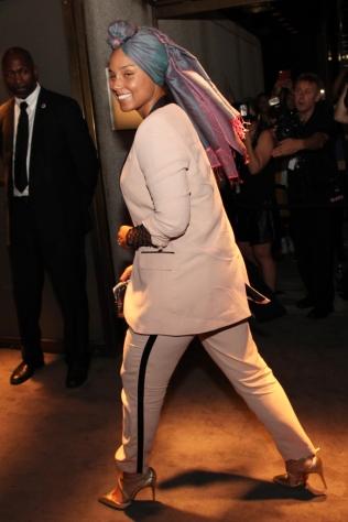 Mandatory Credit: Photo by Lexie Moreland/WWD/REX/Shutterstock (5893850b) Alicia Keys Tom Ford presentation, Autumn Winter 2016, New York Fashion Week, USA - 07 Sep 2016