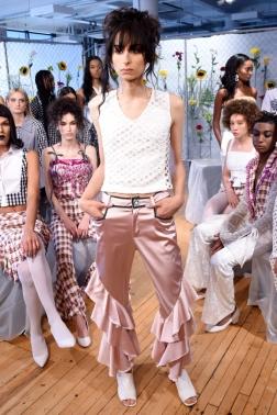 Mandatory Credit: Photo by Stephen Lovekin/WWD/REX/Shutterstock (5895501ai) Model Kim Shui presentation, Spring Summer 2017, New York Fashion Week, USA - 10 Sep 2016