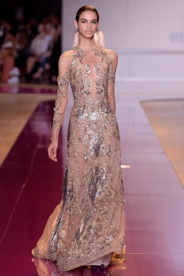Zuhair Murad show, Runway, Autumn Winter 2016, Haute Couture Fashion Week, Paris, France - 06 Jul 2016