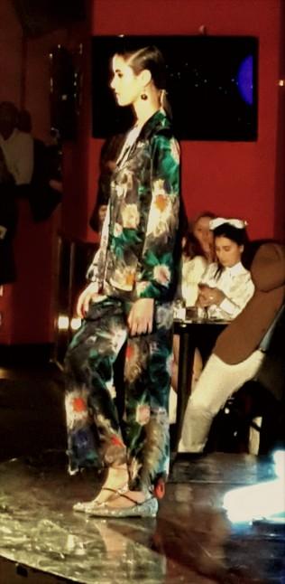Yuna Yang flower bomber pajama with YY signature beaded camisole (4)