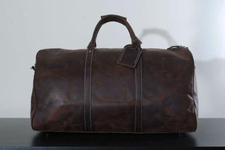 Kurtis Paul Alfred Leather Weekend Bag