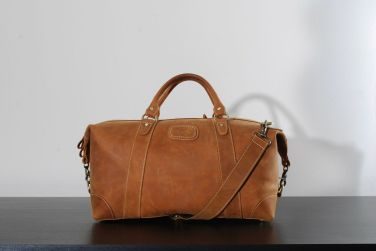 Kurtis Paul Cromwell leather duffle bag