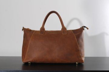 Kurtis Paul Sherlock Leather Tote Bag