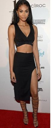 Kissmiss Chanel Iman Cropped