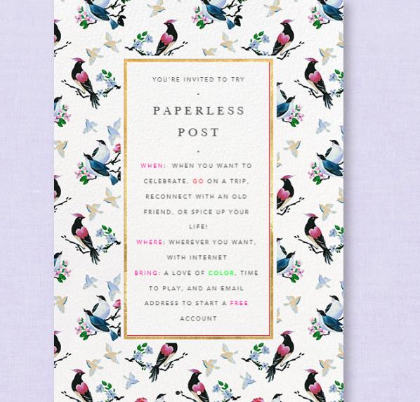 Paperless Post 2